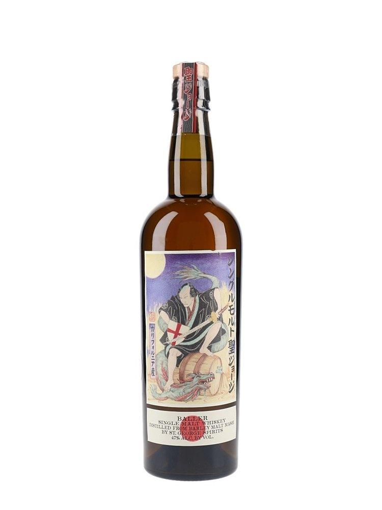 St. George Baller Single Malt Whiskey, Alameda, California