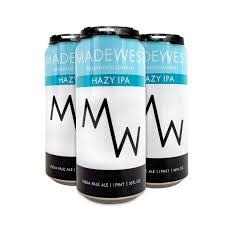 "Madewest ""Hazy IPA"" Hazy India Pale Ale 16oz Can - Ventura CA"