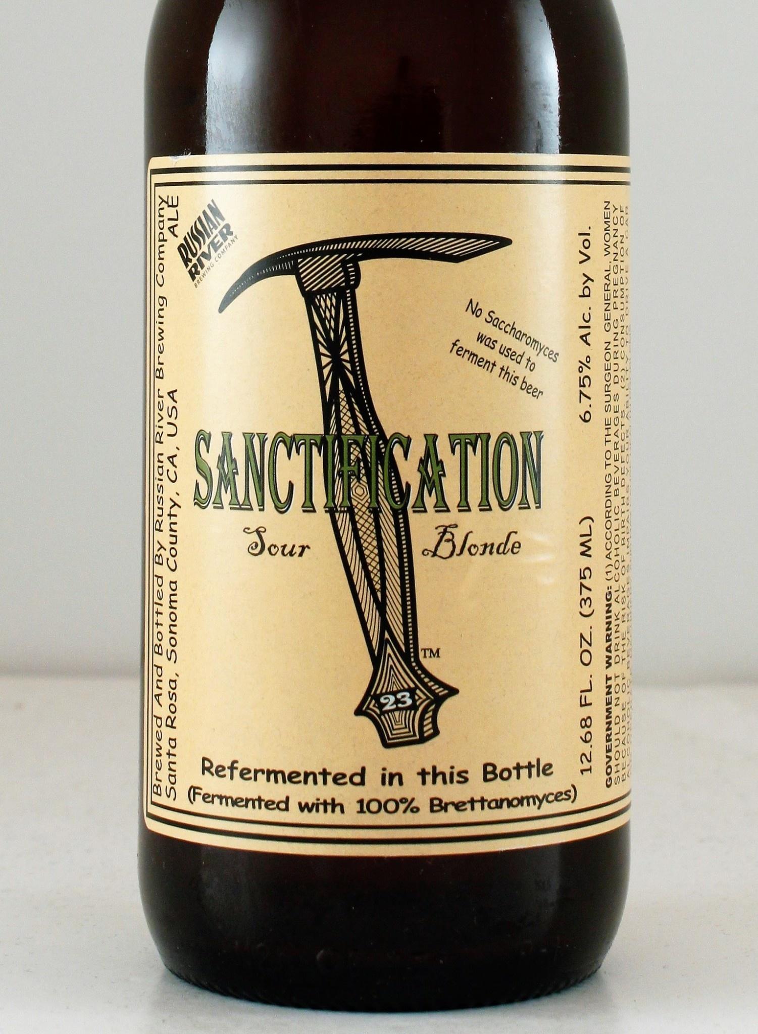 "Russian River Brewing ""Sanctification"" Brett Golden Ale"