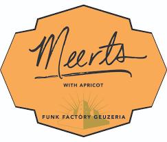 "Funk Factory-""Meerts""Lambic w/ Apricot 750ml- Madison, WI"