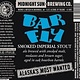 "Midnight Sun Brewing ""Bar Fly"" Smoked Imperial Porter 22oz bottle-Anchorage Alaska"