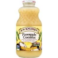 R.W. Knudsen Pineapple Coconut Juice 32oz.
