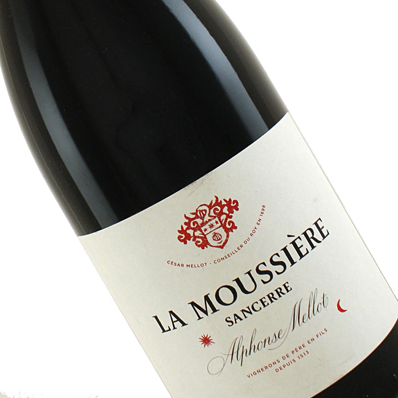 """Alphonse Mellot 2014 Sancerre Rouge """"La Moussiere"""", Loire"""