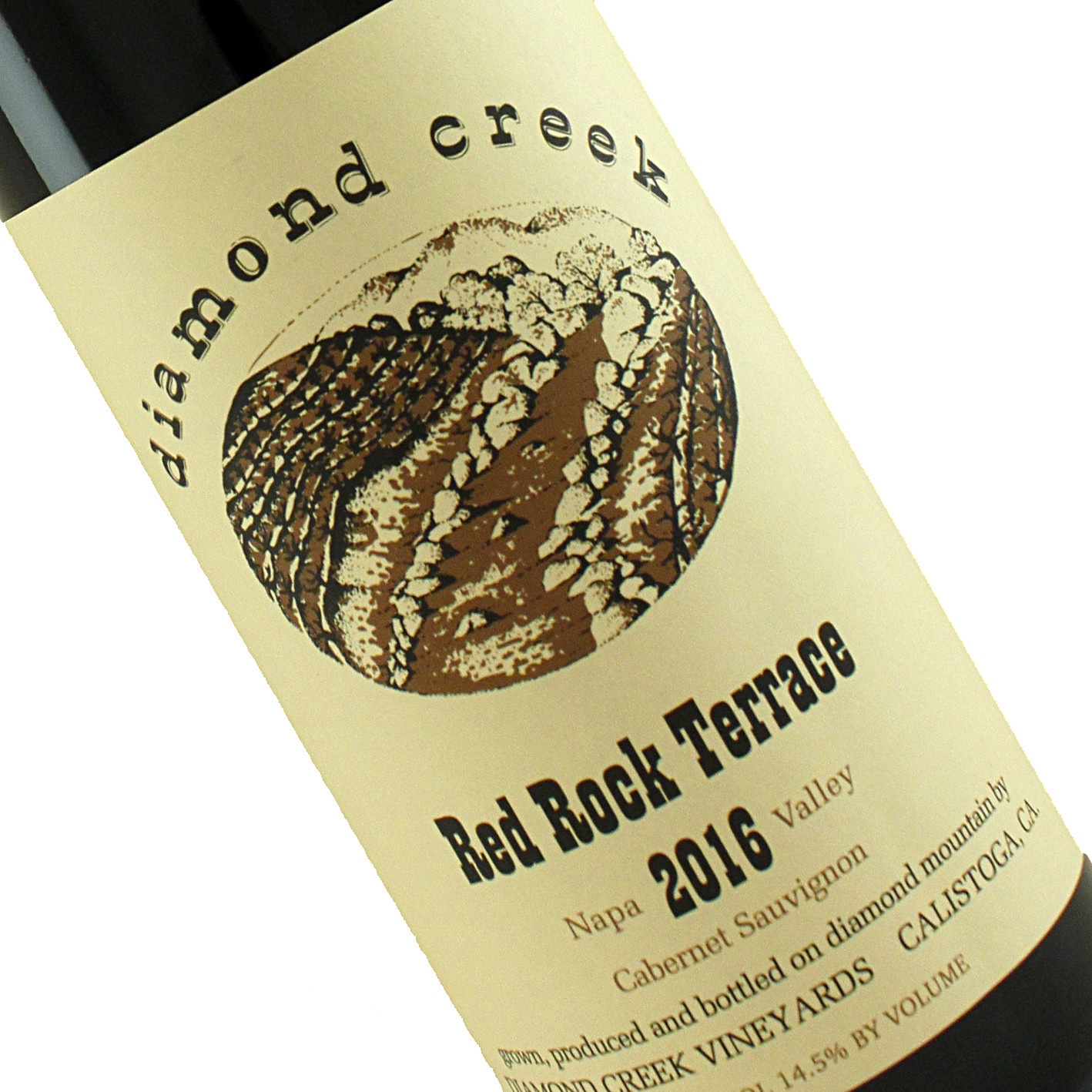Diamond Creek 2016 Cabernet Sauvignon Red Rock Terrace, Napa Valley