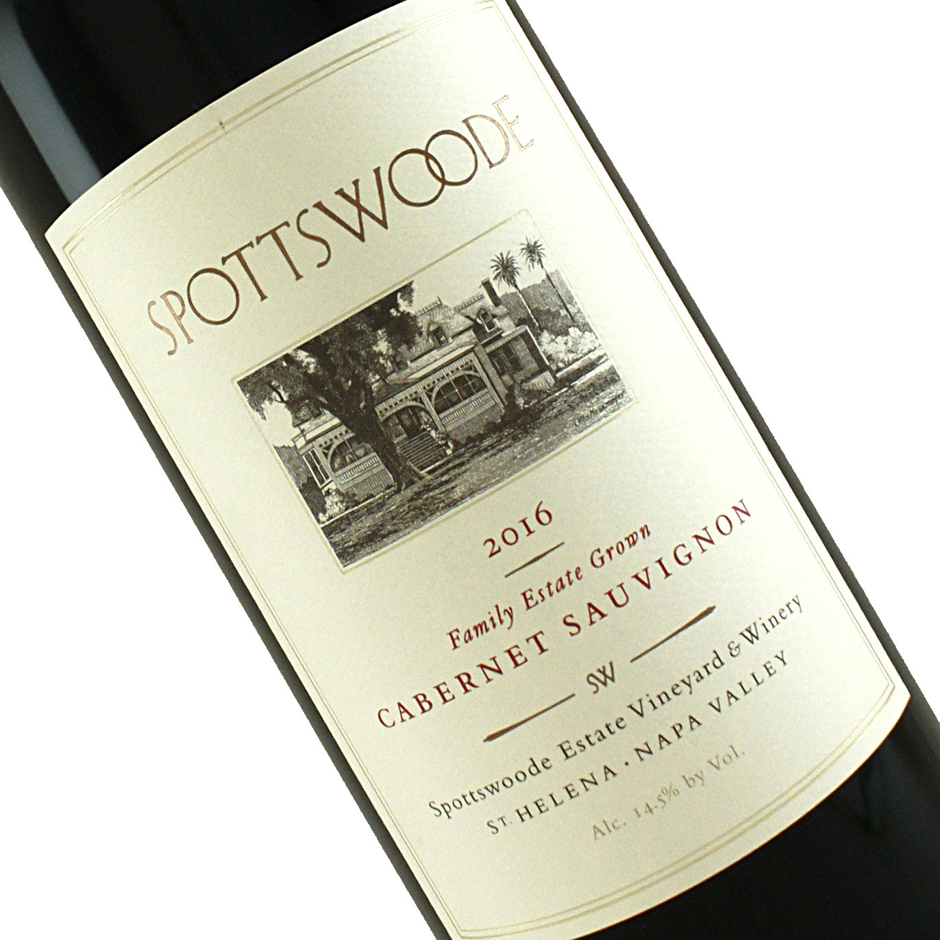 Spottswoode 2016 Family Estate Grown Cabernet Sauvignon, St. Helena, Napa Valley