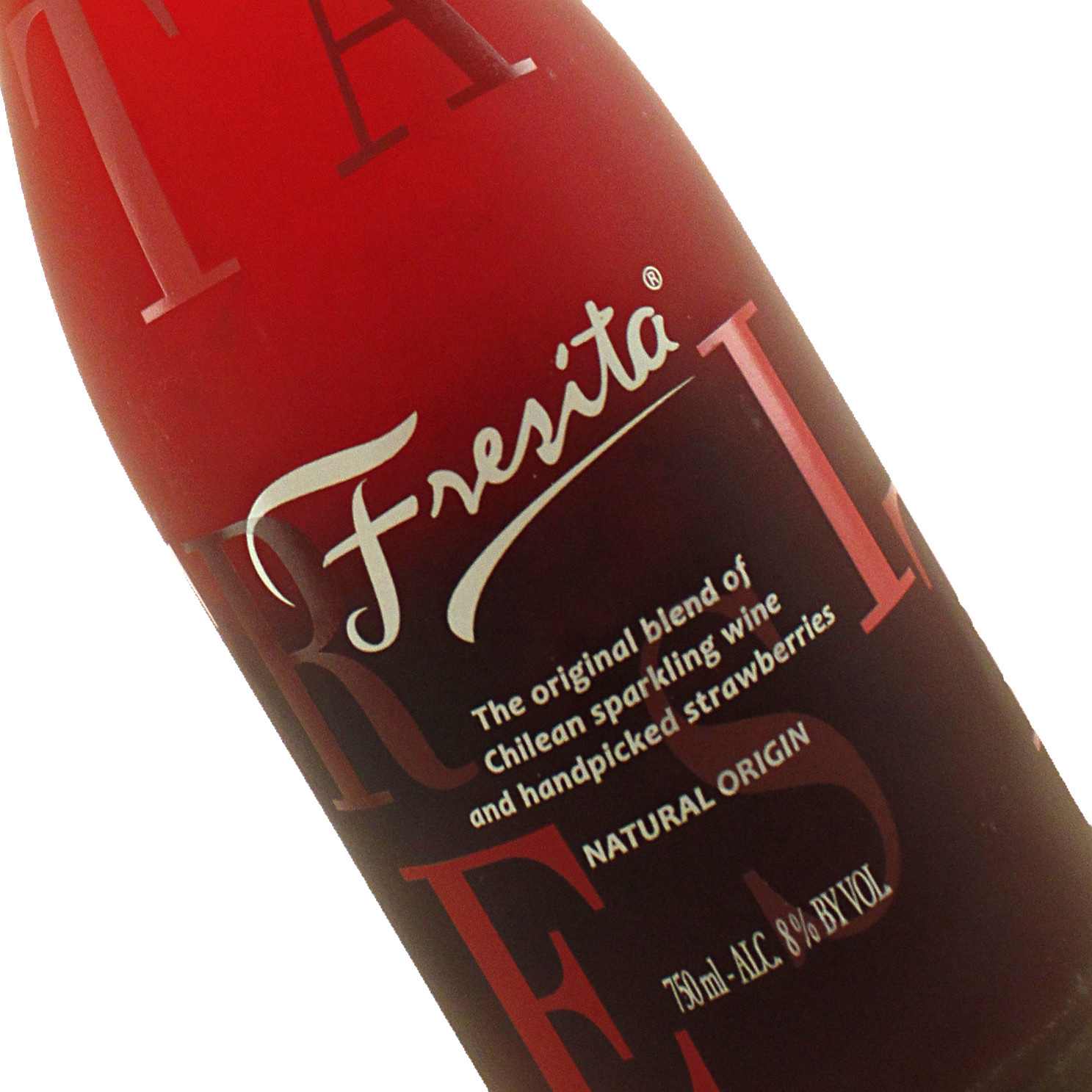 Fresita Sparkling Wine Infused with Patagonian Strawberries, Chile
