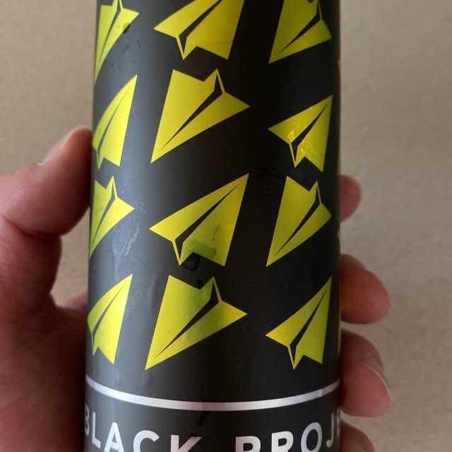 "Black Project Ales ""Stingray"" Sour Wheat Ale w/Blood Orange, Cherry & Lime 16oz. Denver, CO"
