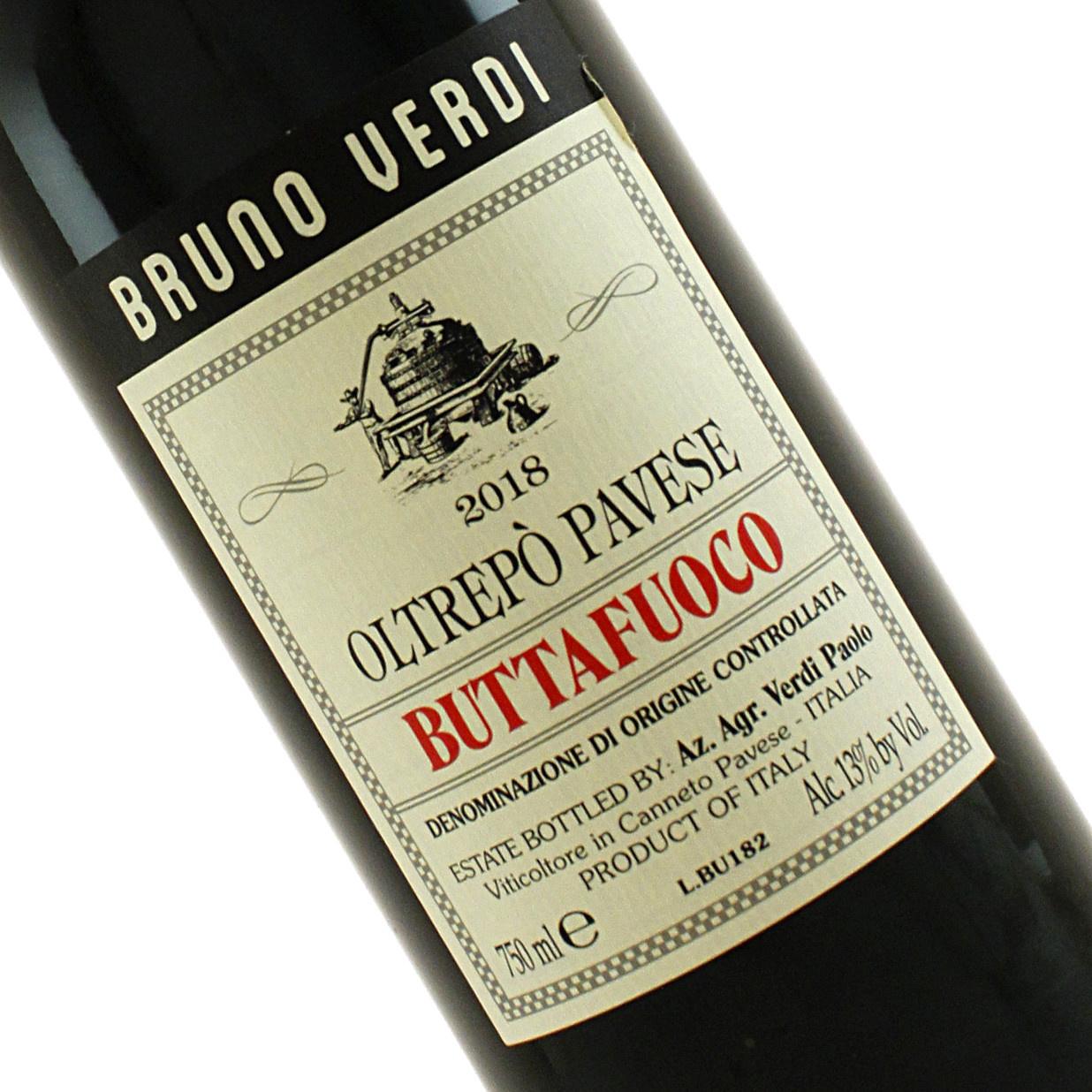Bruno Verdi 2018 Buttafuoco Oltrepo Pavese Rosso, Lombardy