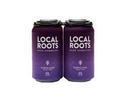 "Local Roots ""Purple Haze"" Hard Kombucha 16oz. California"
