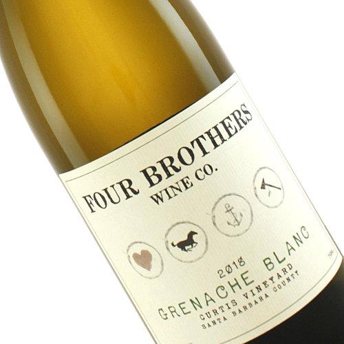"Four Brothers 2017 ""Curtis"" Grenache Blanc, Santa Barbara County"