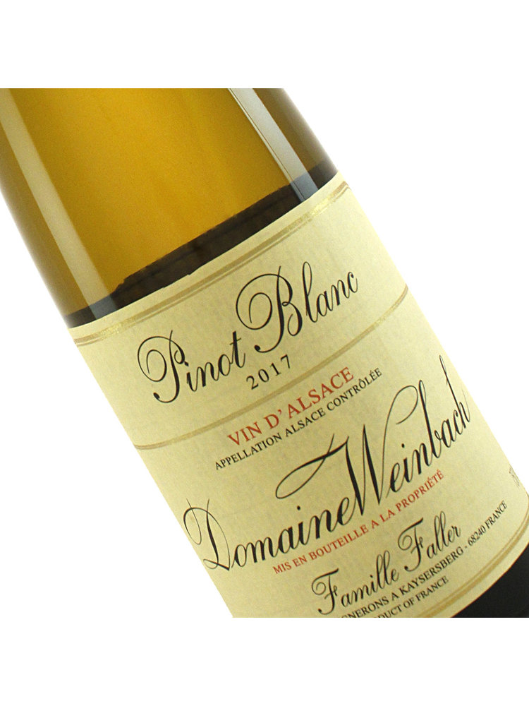 Domaine Weinbach 2017 Pinot Blanc Reserve, Alsace