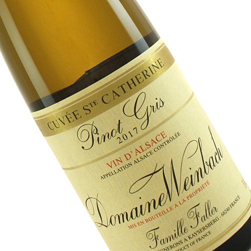 """Domaine Weinbach 2017 Pinot Gris """"Cuvee Ste. Catherine"""", Alsace"""