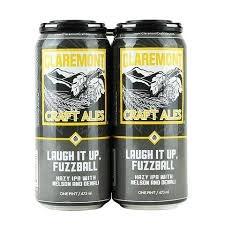 "Claremont Ales ""Laugh It Up, Fuzzball"" Hazy IPA w/ Nelson & Denali 16oz. California"