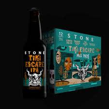"""Stone Brewing """"Tiki Escape"""" IPA 22oz. bottle"""