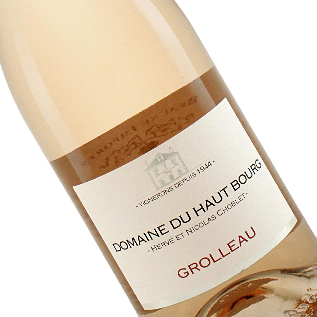 Domaine du Haut Bourg 2019 Grolleau Rose, Loire Valley