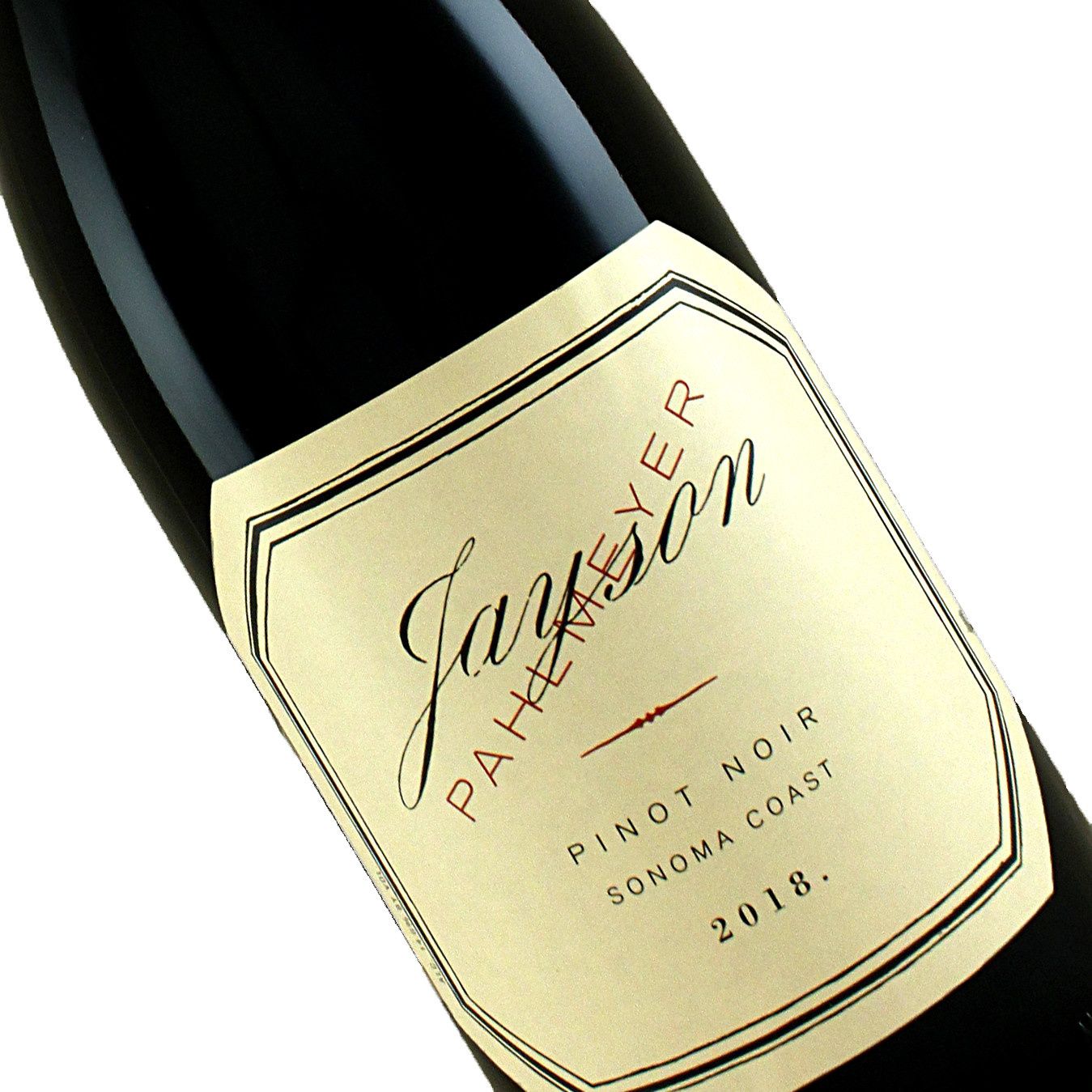 Jayson by Pahlmeyer 2018 Pinot Noir, Sonoma Coast