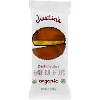 Justin's Organic Milk Chocolate Peanut Butter Cups 2 piece