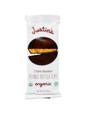 Justin's Organic Dark Chocolate Peanut Butter Cups 2 piece