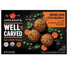 Applegate Organic Asian-Style Meatballs