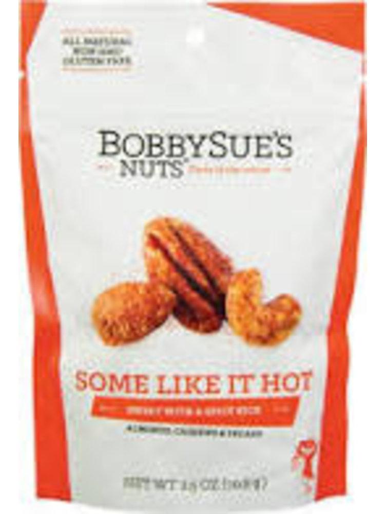 "Bobbysue's Nuts ""Some Like It Hot"" 2.5oz."