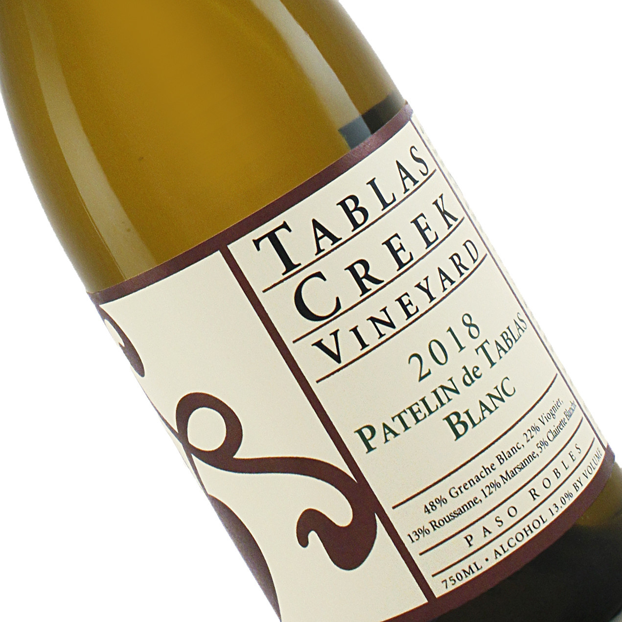 Tablas Creek 2018 Patelin de Tablas Blanc White Rhone Blend, Paso Robles