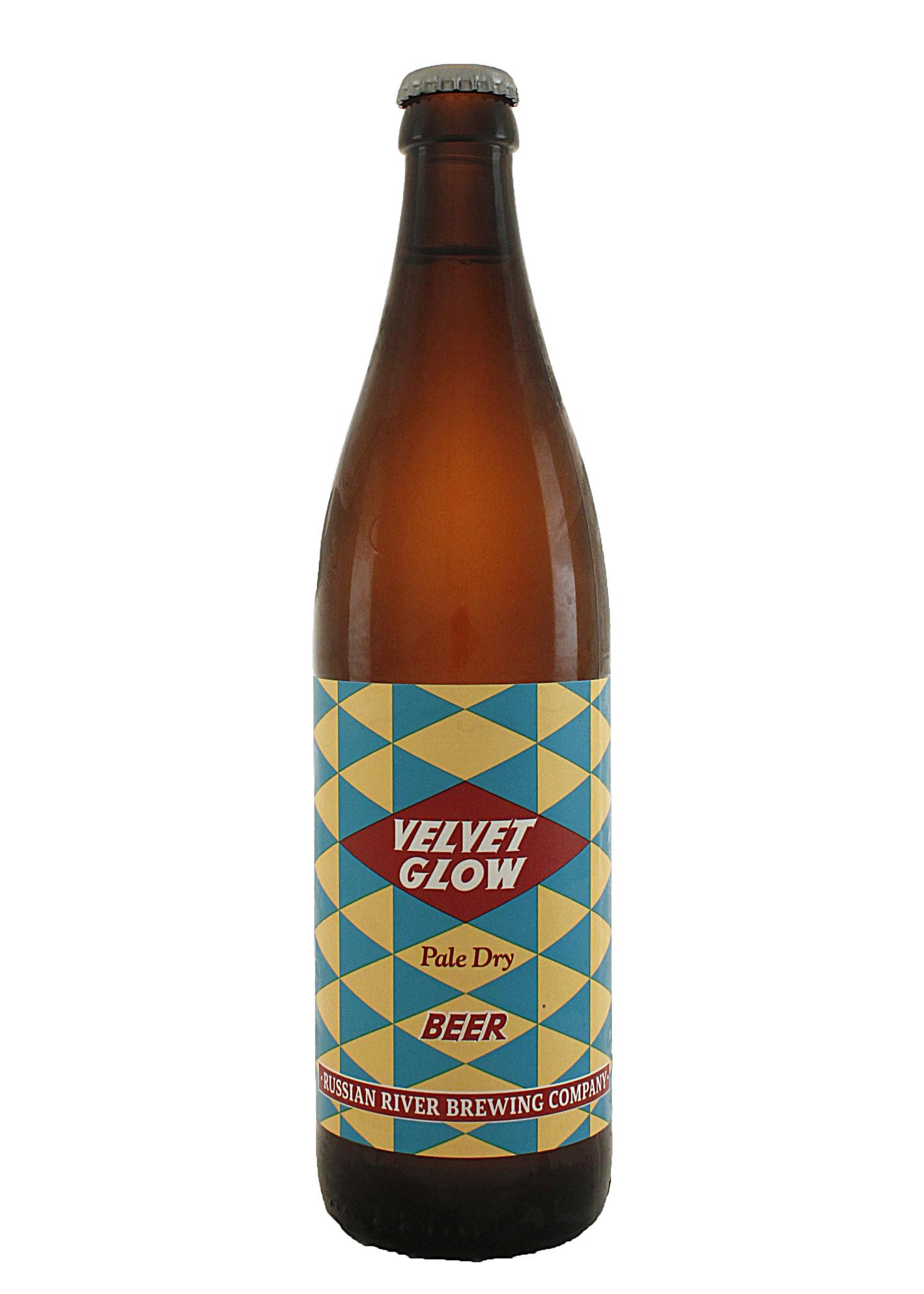 """Russian River Brewing """"Velvet Glow"""" Helles Lager 500ml Bottle - Santa Rosa CA"""