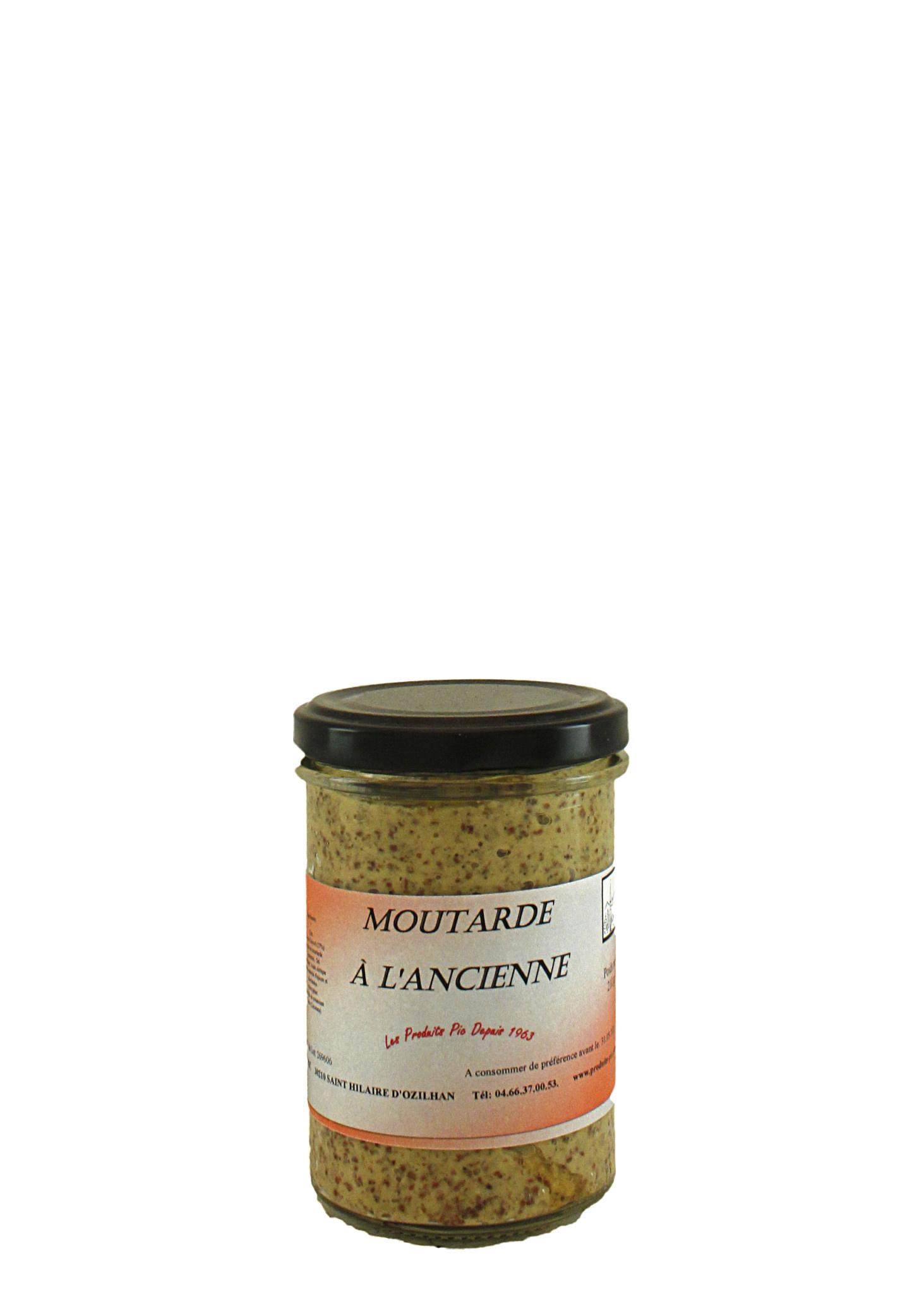 Pic Moutarde a L'Ancienne,  Les Produits Pic, Saint Hilaire d'Ozilhan, Provence, France
