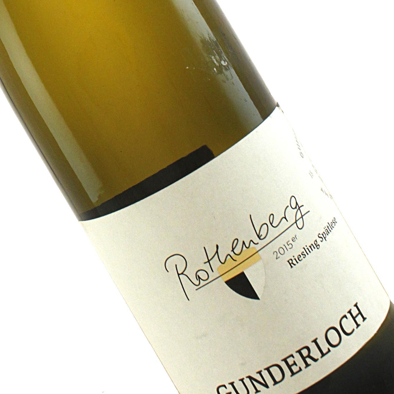 Gunderloch 2015 Riesling Spatlese, Nackenheim Rothenberg, Rheinhessen