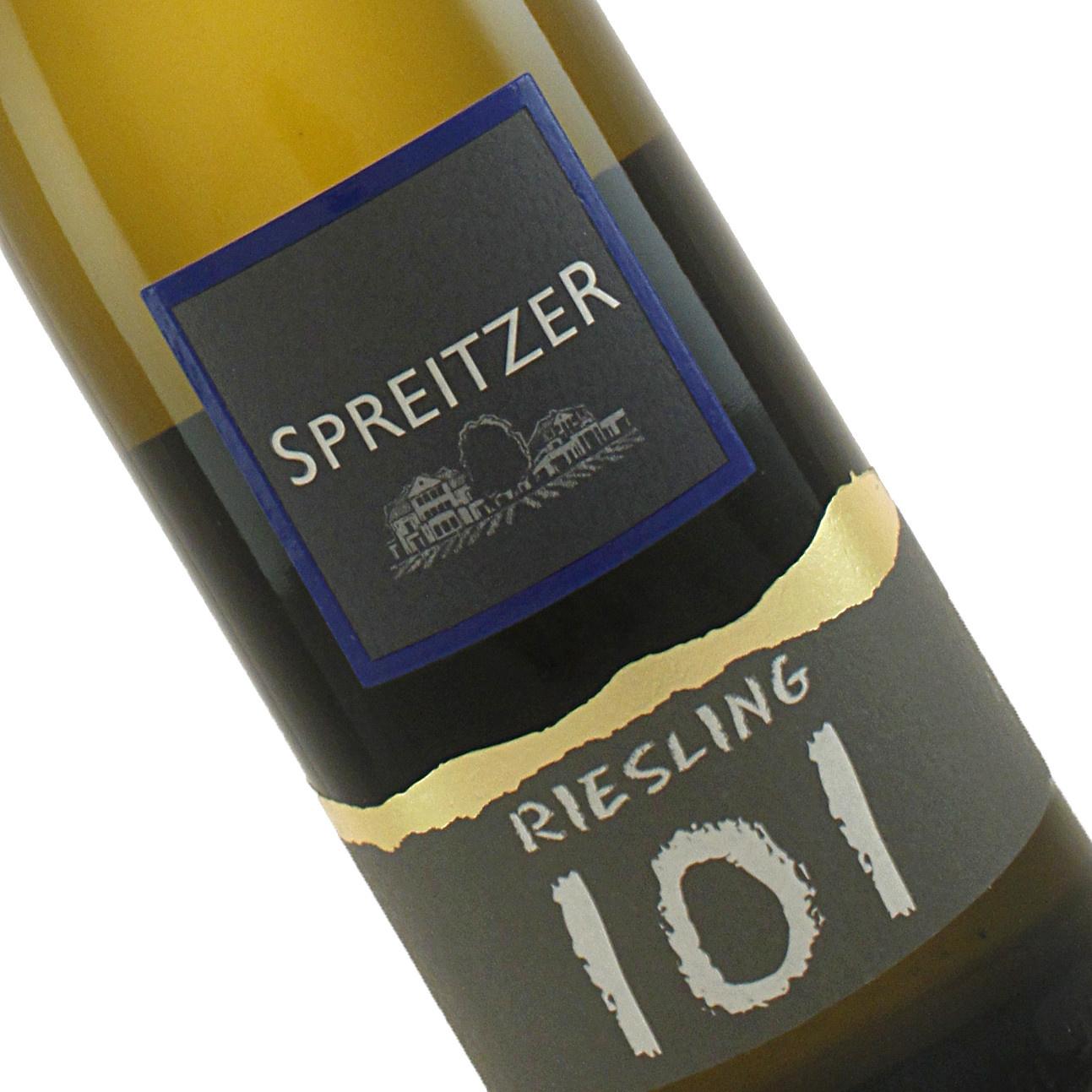 Spreitzer 2018 Riesling 101, Rheingau, Germany
