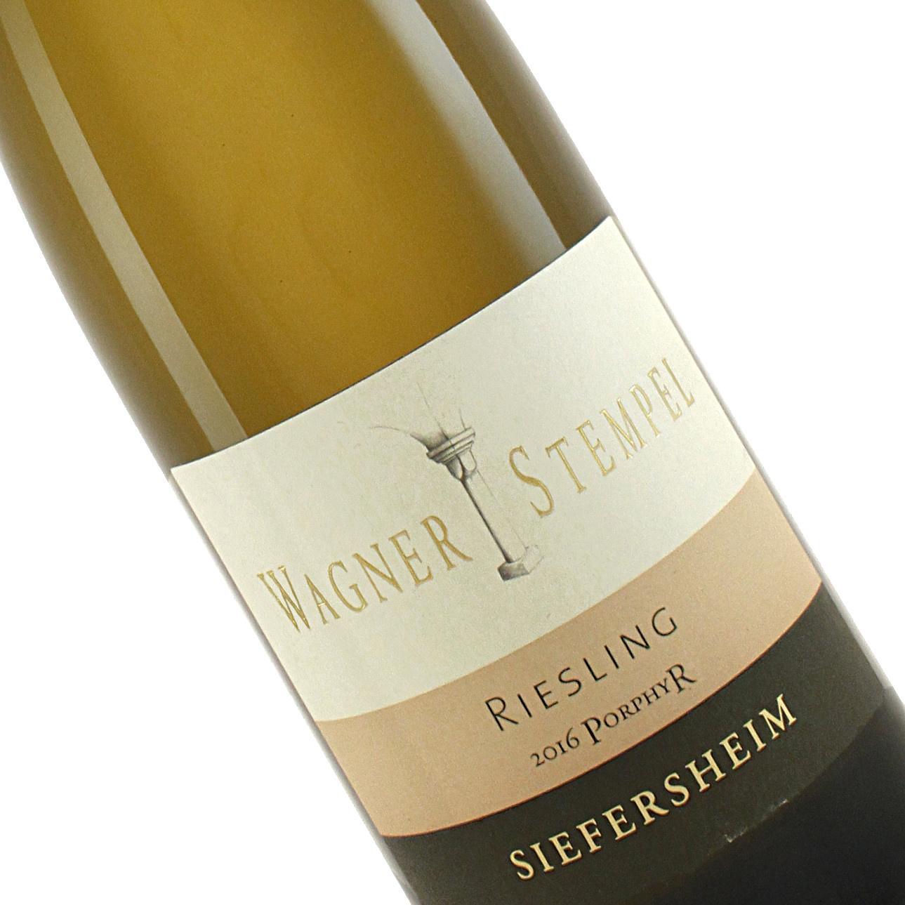 Wagner-Stempel 2018 Siefersheim Riesling Trocken Vom Porphyr , Rheinhessen
