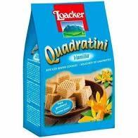 Loacker Quadratini Vanilla Wafer Cookies South Tyrol, Italy