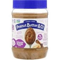 Peanut Butter & Co. Cinnamon Raisin Swirl 16 oz.