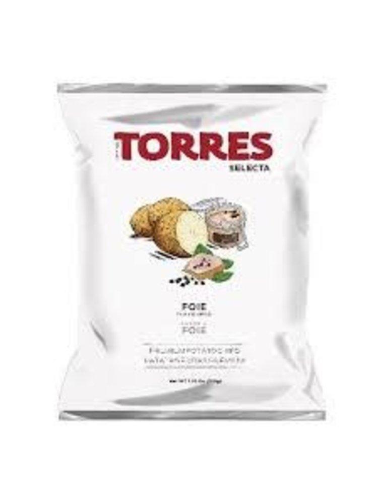 Torres Foie Gras Flavored Potato Chips 1.76oz., Spain