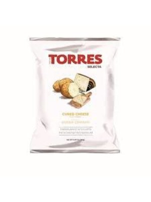 Torres Cured Cheese Potato Chips 1.76oz., Spain
