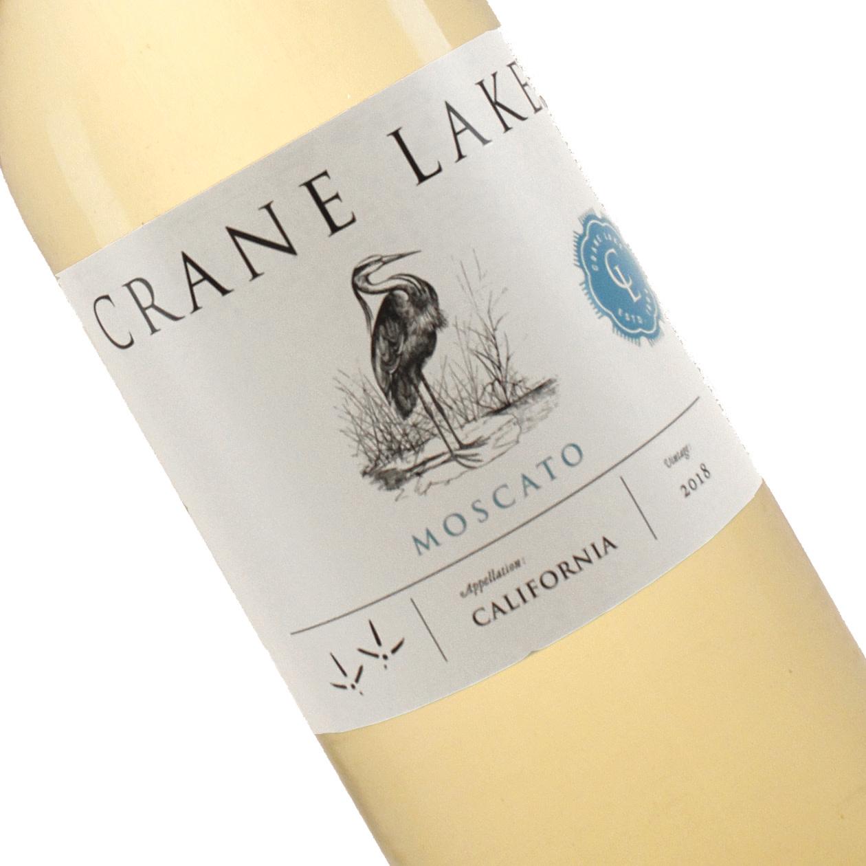Crane Lake 2019 Moscato, California