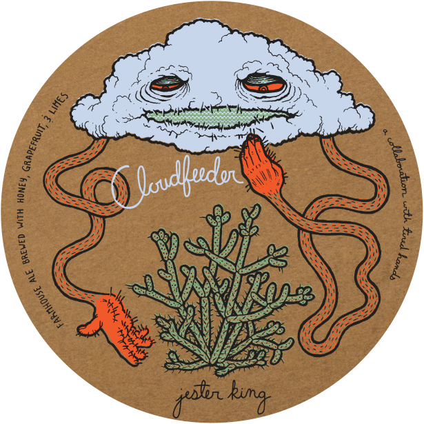 "Jester King/Tired Hands ""Cloudfeeder"" Grapefruit/Lime  750ml"