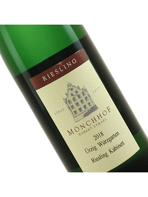 Monchhof 2018 Urzig Wurzgarten Riesling Kabinett Urziger, Mosel, Germany