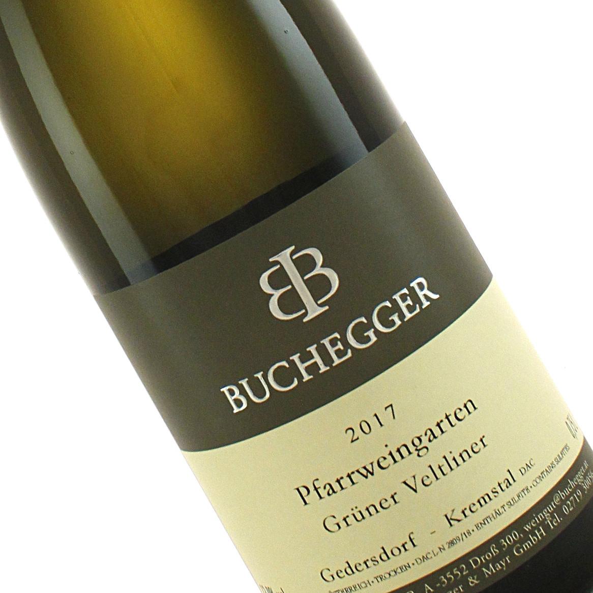 Buchegger 2017 Gruner Veltliner Pfarrweingarten, Kremstal Austria