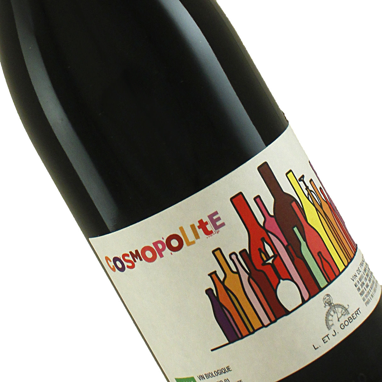 """Domaine du Temps 2017 """"Cosmopolite"""" Red Wine, Languedoc France"""