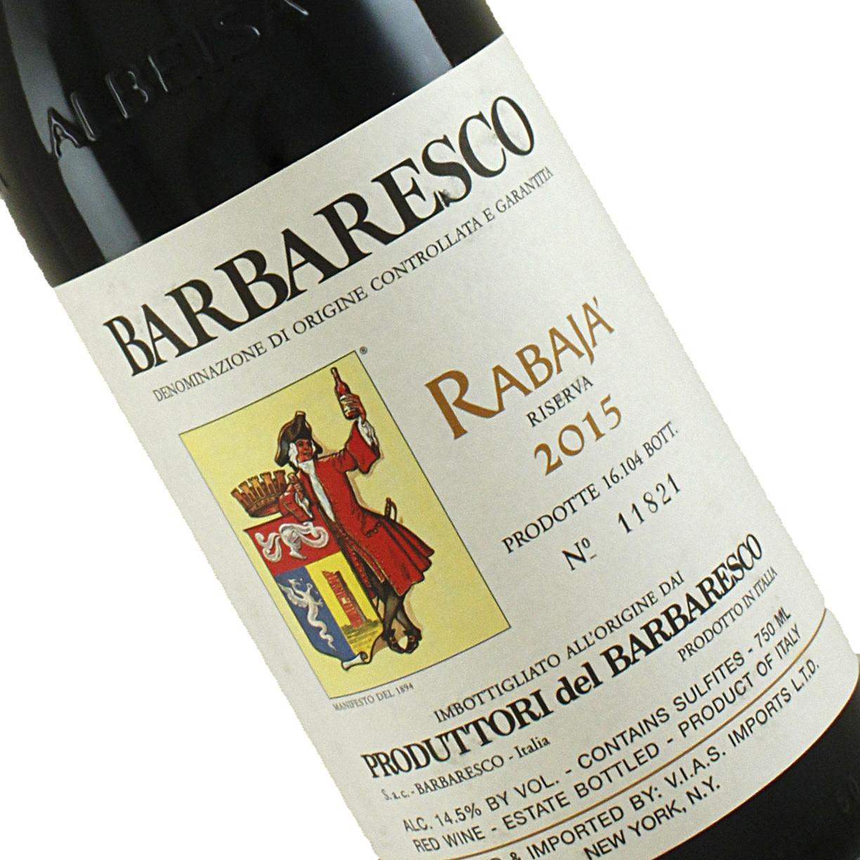 Produttori del Barbaresco 2015 Barbaresco Riserva Rabaja, Piedmont