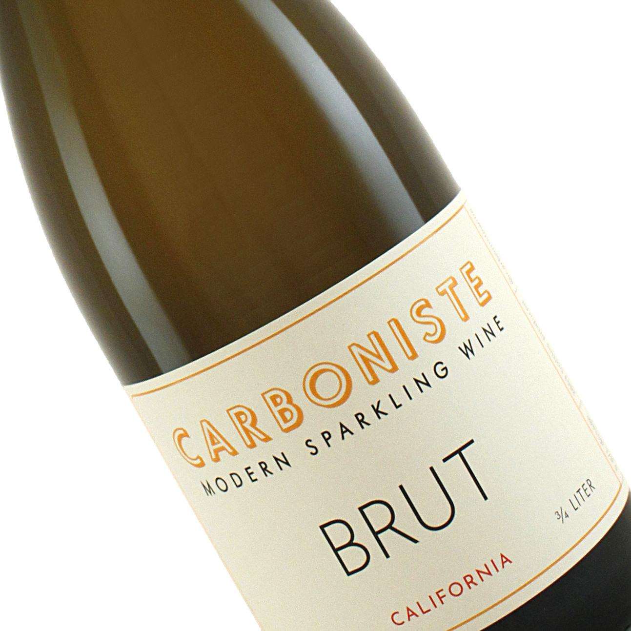 Carboniste 2018 Brut Sparkling Wine, California