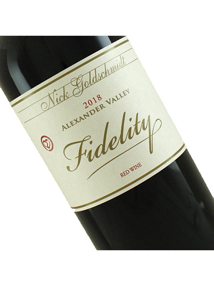 """Nick Goldschmidt 2018 """"Fidelity""""  Red Wine, Alexander Valley"""