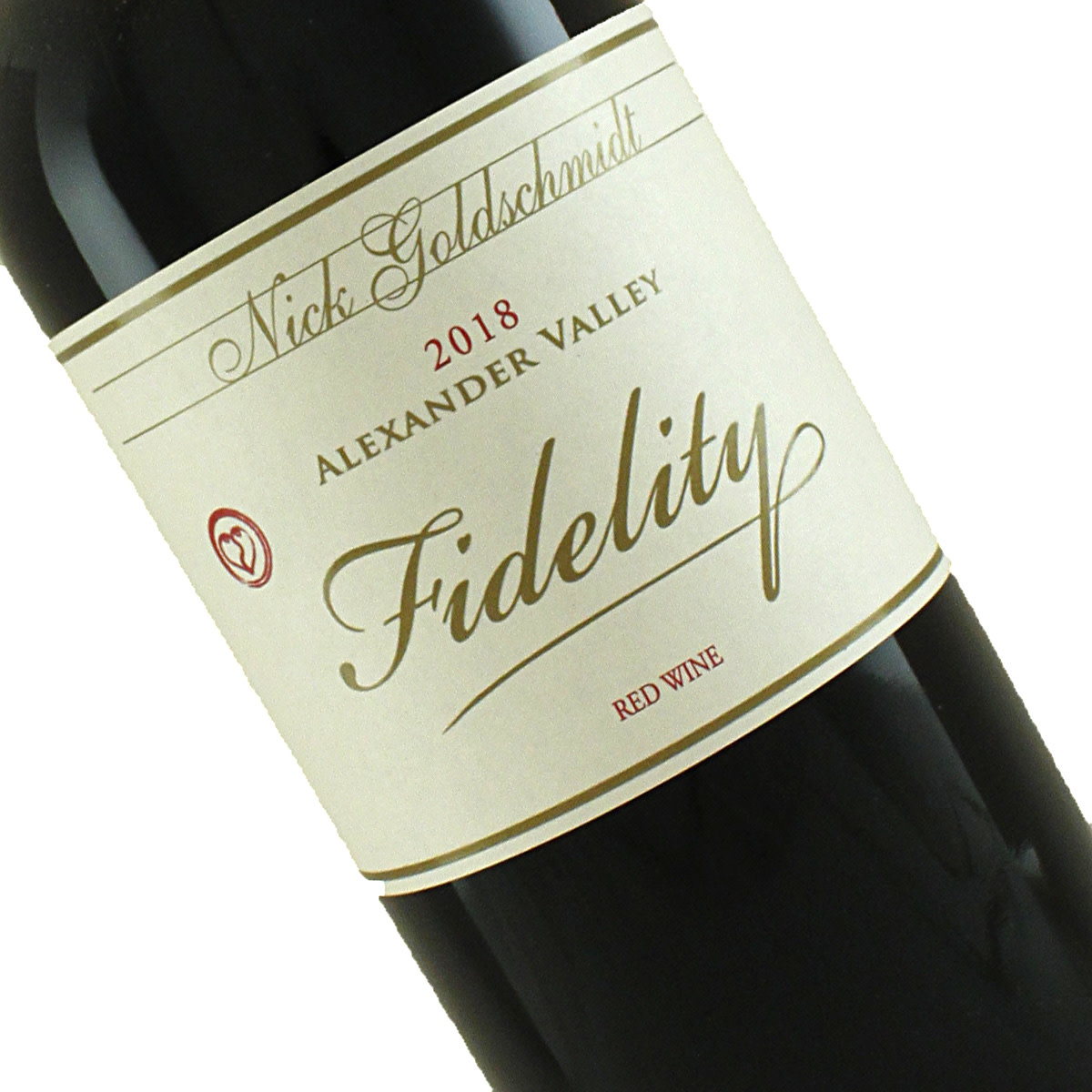 "Nick Goldschmidt 2018 ""Fidelity""  Red Wine, Alexander Valley"