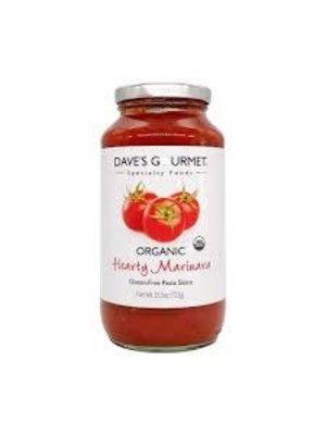 Dave's Gourmet Organic Hearty Marinara Pasta Sauce 25.5oz.