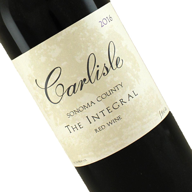 "Carlisle 2016 ""The Integral"" Red Wine, Sonoma County"