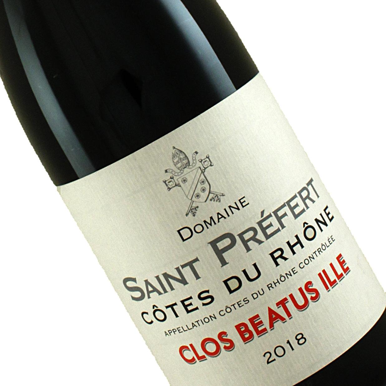 Domaine Saint Prefert 2018 Clos Beatus Ille Cotes Du Rhone
