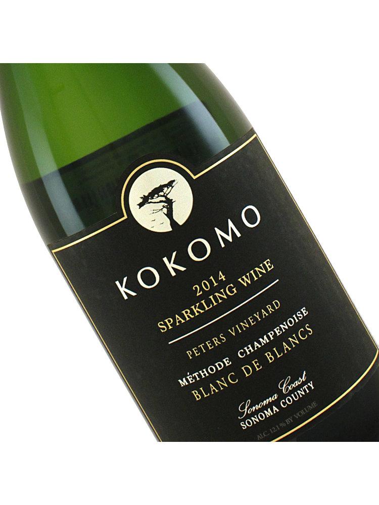 Kokomo 2014 Blanc de Blancs Sparkling Wine Peter's Vineyard, Sonoma Coast