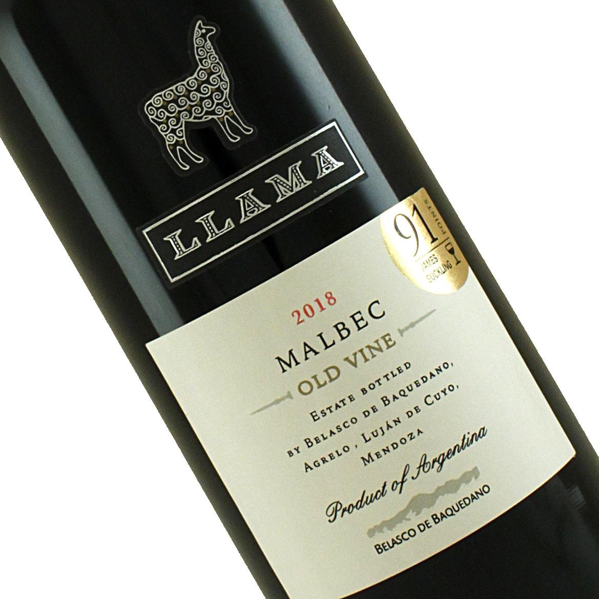 Llama 2018 Malbec Old Vine Mendoza, Argentina