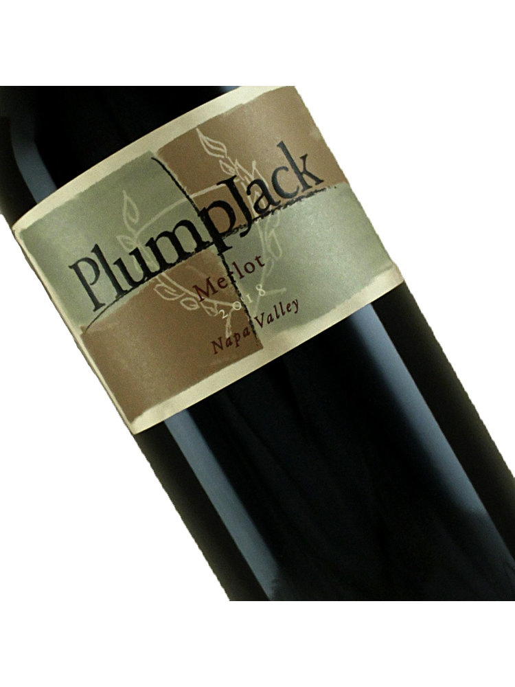 PlumpJack 2018 Merlot, Napa Valley