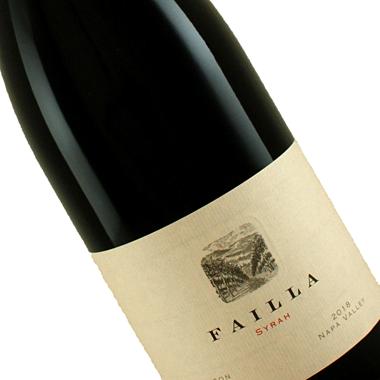 Failla 2018 Syrah Hudson Vineyard, Napa Valley